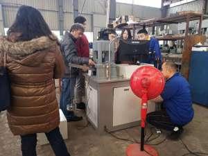 国外客户到济南辰达工厂参观考察