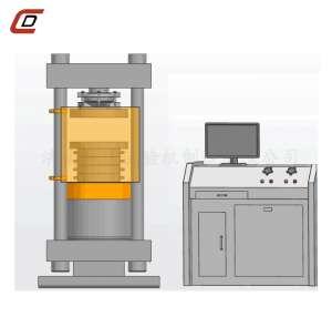 YAW-3000D欧标全自动压力试验机